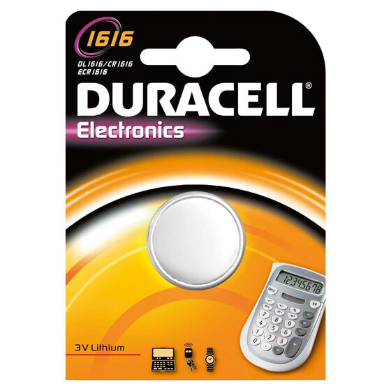 Duracell Electronics 1616 Knopfzelle