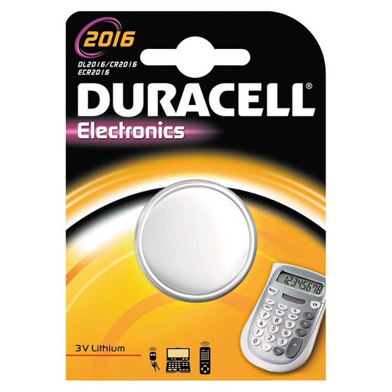 Duracell Electronics 2016 Knopfzelle