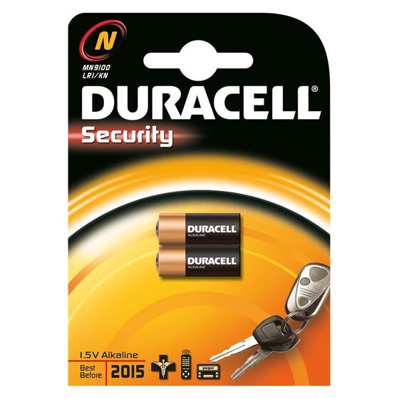 Duracell Security MN9100 Batterie 2er Blister