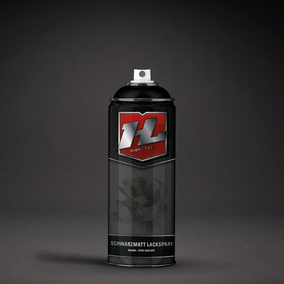 High Level Schwarzmatt 400ml (exkl. VOC)